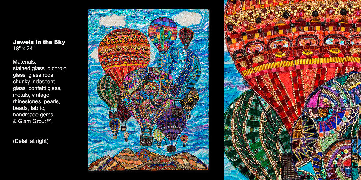 Glass Mosaic Wall Art - Glass Designs